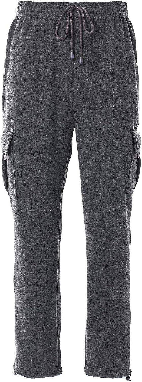 Man Casual Fleece Pants Solid Selling Heavyweight Sweatpants Jogging Cheap SALE Start Car