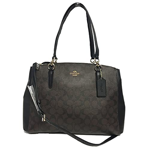 Coach Christie Carryall in Crossgrain Leather b6aa935013185