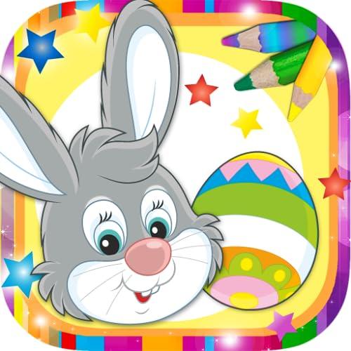 Pinta el huevo de pascua - Decorar el huevo y pintar conejos