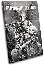 Bold Bloc Design - Khabib Nurmagomedov UFC MMA Sports 90x60cm Single Canvas Art Print Box Framed Picture Wall Hanging - Ha...