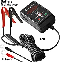 Suuwer Automatic Trickle Battery Maintainer 6/12 Volt 800mA Smart Battery Charger