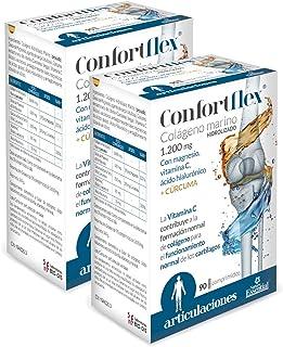 Confortflex® 1200 mg. 90 comprimidos con colágeno. cúrcuma. magnesio. ácido hialurónico y vitamina C. (Pack 2 unid.)
