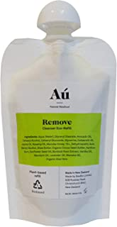 Remove Eco Pouch & Lip Balm by Aú Natural Skinfood | A World First Zero-Waste Skinfood Brand | Gentle Face Wash with 16+ Manuka Honey | Removes toxins to purify skin | 100 mL Biodegradable Pouch