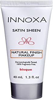 Innoxa Satin Sheen Liquid Foundation Natural Finish Makeup 40mL - Bisque
