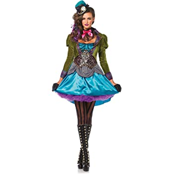 Generique Disfraz de Sombrerero Loco Original Mujer - Premium M ...