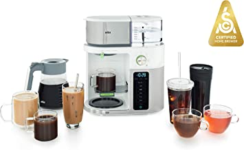 Braun MultiServe Coffee Machine 7 Programmable Brew Sizes / 3 Strengths + Iced Coffee..