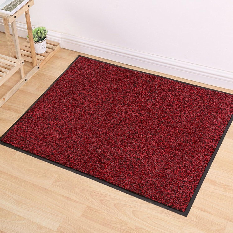 Pure color dust catcher mat Shopping malls door mat Door car mats [hall] Indoor mats The bathroom door mat-C 120x150cm(47x59inch)