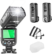 Neewer NW-562 E-TTL Flash Speedlite Kit for Canon DSLR Camera,Kit Include:(1)NW562C Flash+(1)FC-16 2.4Ghz Wireless Trigger(1 Transmitter+1 Receiver)
