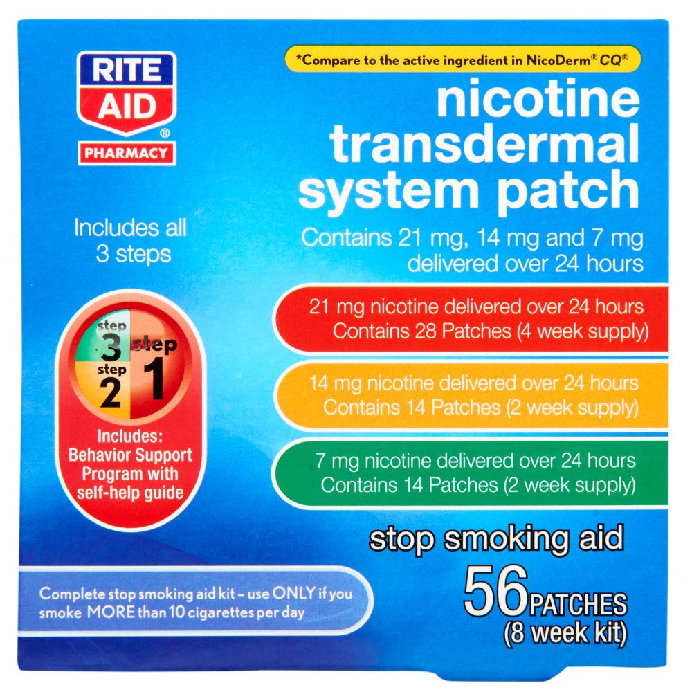 Rite Aid Nicotine Patch Kit