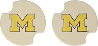 Thirstystone University of Michigan Car Cup Holder Coaster, 2-Pack