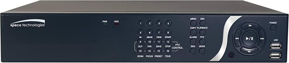 Speco N4NSP1TB Technologies 4 Channel Plug & Play Nvr with Built-in Poe