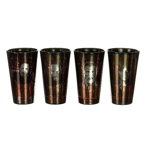 Walking Dead Bloody Pint Glass Set