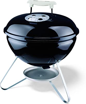 Weber 10020 Smokey Joe 14-Inch Portable Grill,Black