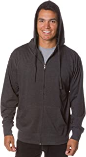 full zip lightweight hoodie