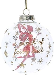 in Vetro 14 cm Gisela Graham Decorazione per Albero di Natale