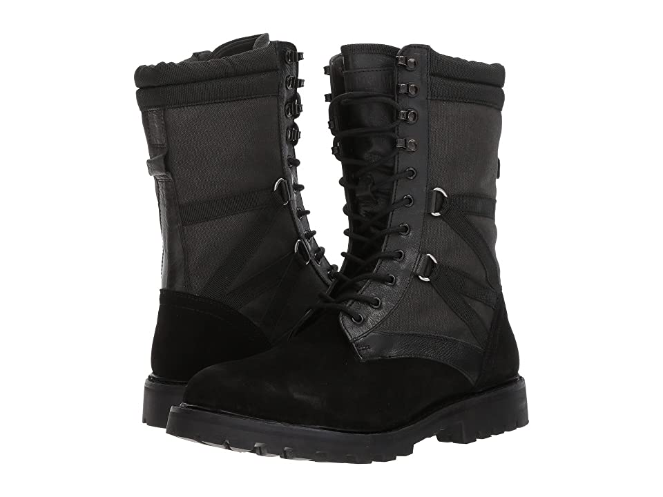 Michael Bastian Gray Label Combat Ultra Force Boot (Black) Men's Boots