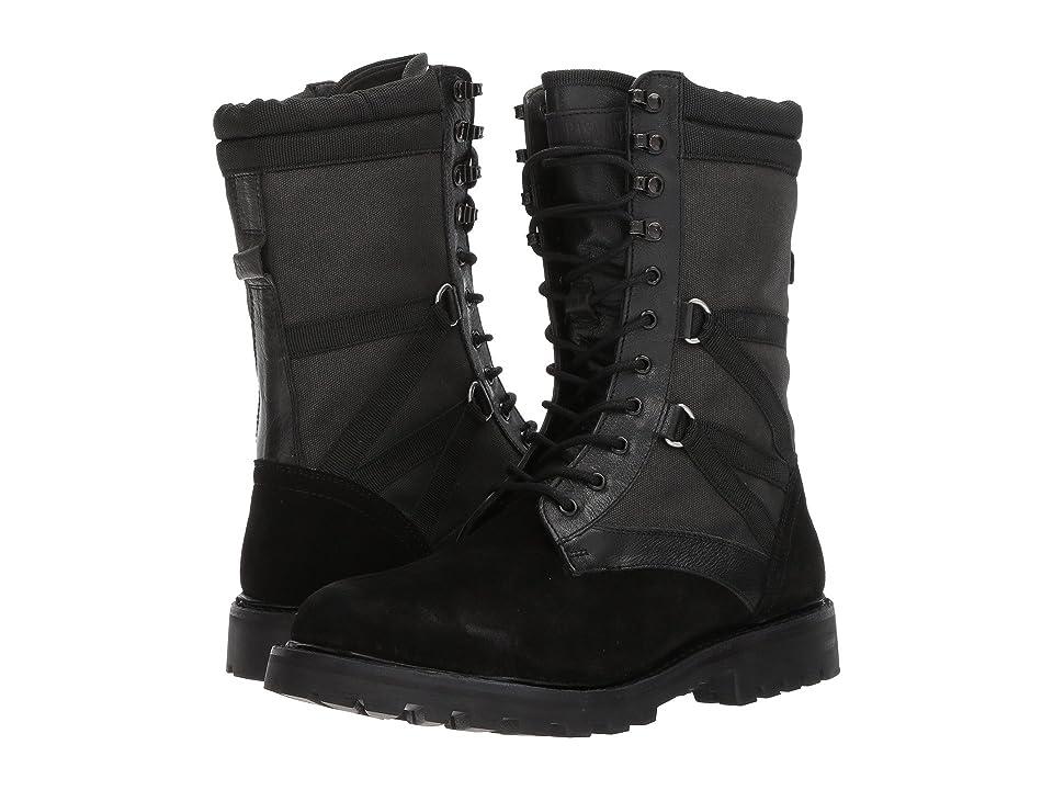 Michael Bastian Gray Label Combat Ultra Force Boot (Black) Men