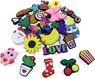 36PCS Shoe Charms for Croc Shoes Jibets Kids' Birthday Party Favors Gifts