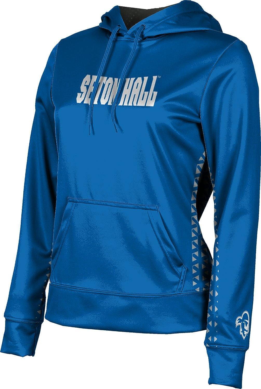 ProSphere Seton Hall University Girls' Pullover Hoodie, School Spirit Sweatshirt (Geo)