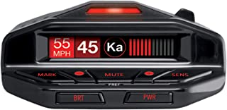 Escort Redline EX Laser Radar Detector - Escort Live, Extreme Range, False Alert Filter, OLED Display, Voice Alerts