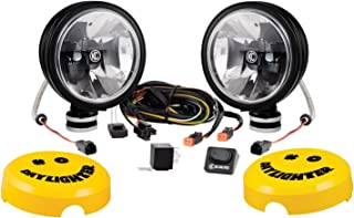 KC HiLiTES Black 653 Gravity G6 20W LED Daylighter Driving Light System