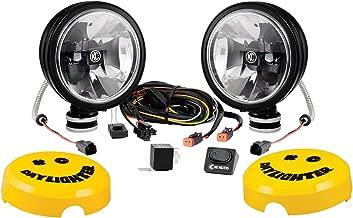 KC HiLiTES Black 653 Gravity G6 20W LED Daylighter Driving Light System