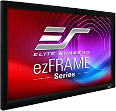 Elite Screens ezFrame Series, 100-inch Diagonal 16:9, Sound Transparent Perforated Weave AcousticPro1080P3 Fixed Frame Projection Screen, R100WH1-A1080P3