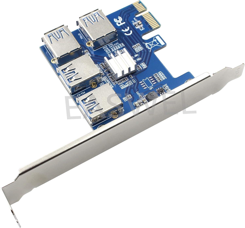 Riser Card PCI-E USB 3.0 PCIe P Max 76% OFF Port Multiplier Charlotte Mall PCI Express