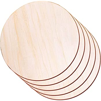 MonkeyJack 30 Pieces//Pack Natural Unpainted Wood Circle Discs with Double Hole Log Discs Slice 38mm for Arts /& Crafts Hanging Tags
