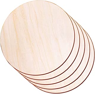 Wooden Round Blanks Crafting Blanks