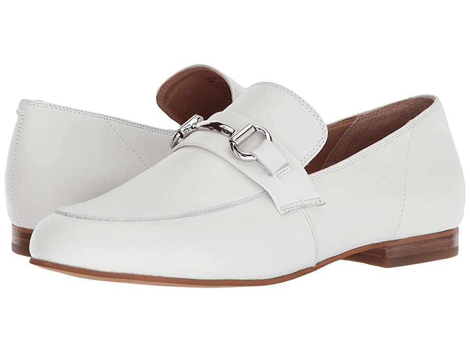 Steve Madden Kerry Dress Loafer (White Leather) Women