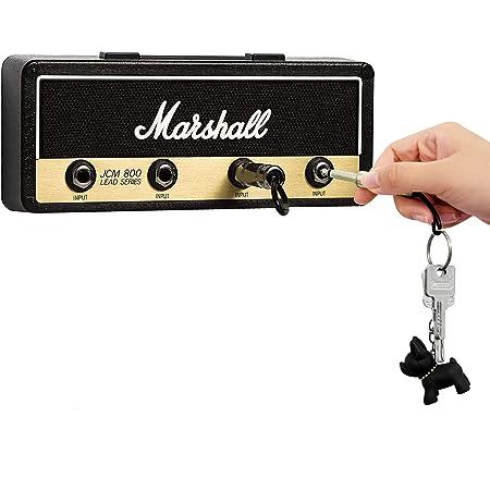 WQU Porte-clés crochet pour guitare Montage mural avec 4 porte-clés avec prise de guitare…