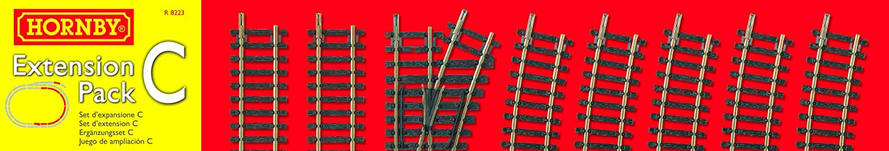 Hornby Track Extension Pack C Model Railway Track Train