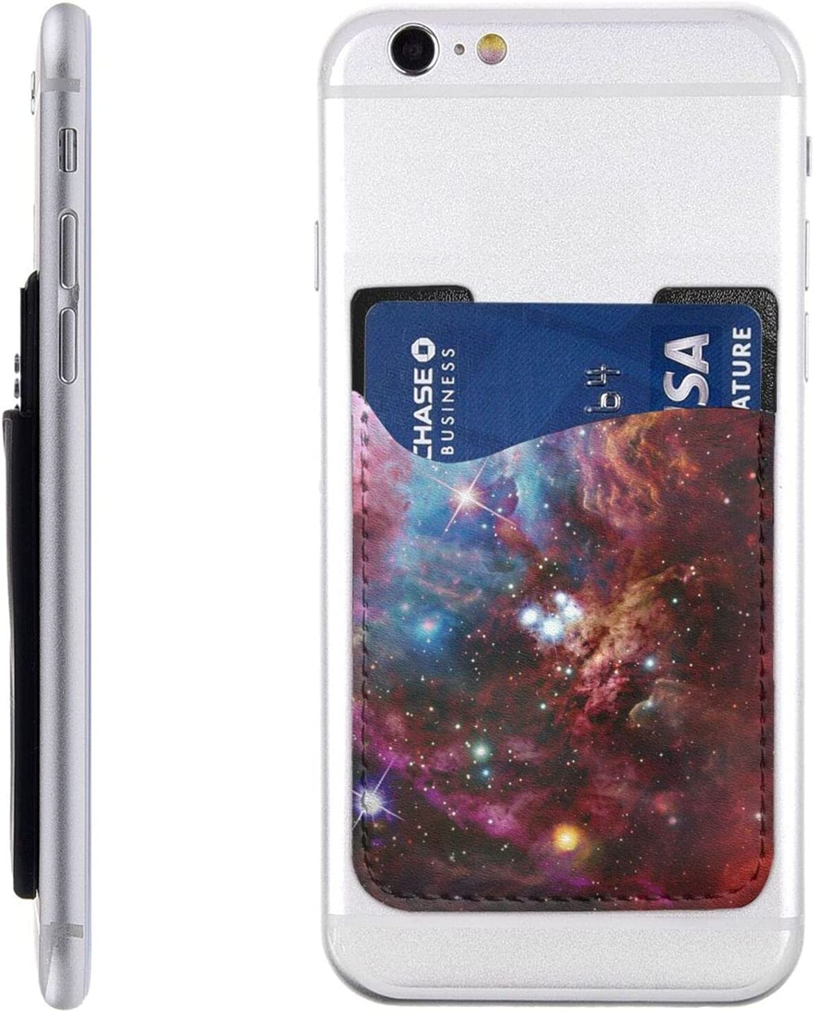 Night Sky Outer Space Phone Card On Stick Cell Price reduction Omaha Mall Holder
