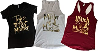Bachelorette Party Tank Tops, Wizard Themed Party, Tribe of Mischief, Mischief Managed Tank Tops, Bride Tank Tops