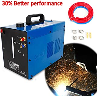 TIG Welder Water Cooler WRC-300A 110V 50 Hz TIG Welder Torch Welding Machine Water Cooling System Circulating Water Tank, Single Phase, 10 Liter Capacity