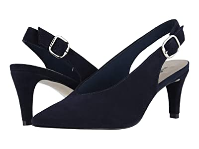 Walking Cradles Shelby (Navy Suede) Women