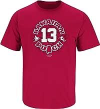 Smack Apparel Alabama Football Fans. Hawaiian Punch Cardinal T-Shirt (Sm-5X)