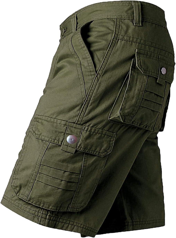 Yiqinyuan Men Max 82% OFF Shorts Work Military Trousers Regular dealer Short Fashion