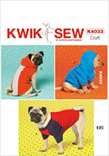 KWIK-SEW PATTERNS K4033OSZ Dog Coats Sewing Template