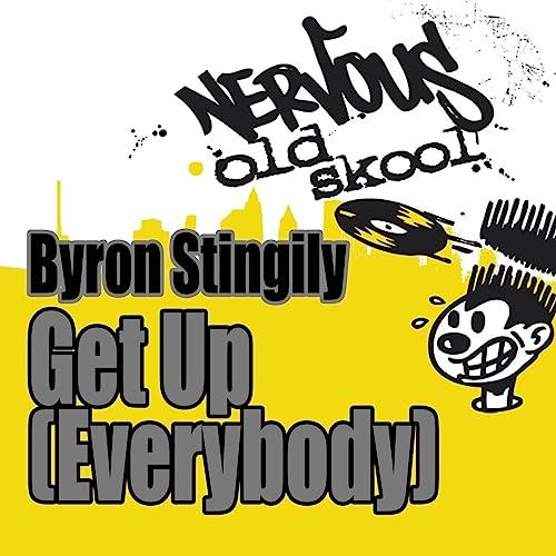 Get Up Everybody By Byron Stingily On Amazon Music Amazon Com