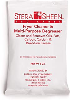 Stera-Sheen Red Label French Fryer and Filter Cleaner - 6 oz Packets - 24 Packets/Case