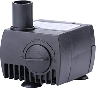 Minerva 63 GPH (200 L/H, 2W) Submersible Water Pumps for Aquarium, Tabletop Fountains, Pond, Water Gardens and Hydroponic Systems with One Nozzles, CE-ROHS Approved, 5.9ft Power Cord