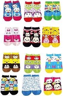 ディズニー ツムツム 靴下 12種類セット サイズ22cm~24cm