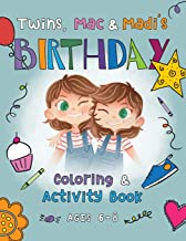 Twins, Mac & Madi's Birthday: Coloring & Activity Book (Mac & Madi - Coloring & Activity Books)