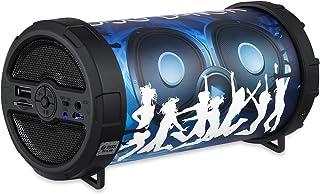 Zoook Disco Dancer Bluetooth Speaker with LED Lights Disco Dancer - Black+Blue
