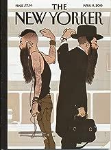 New Yorker - April 11, 2016. Hanuka Cover-
