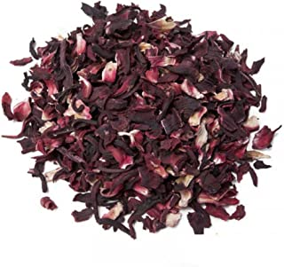 Aromas de Té - Infusiones Variadas - Infusión Hibiscus en Formato de 50 gramos - Infusión Natural con Propiedades Hidratan...