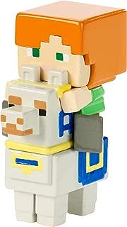 Minecraft Deluxe Mini Alex on Llama Figure