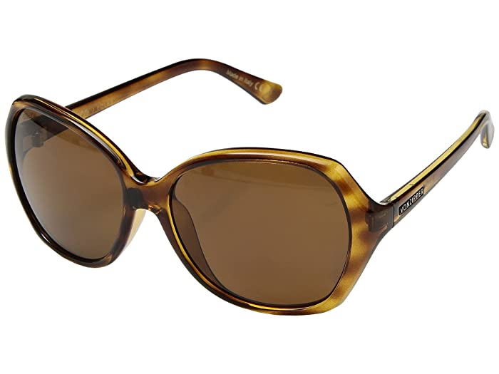 VonZipper Bloom Polar (Tortoise/Wild Bronze Polar) Athletic Performance Sport Sunglasses